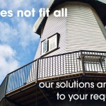 One size does not fit all - our solutions are tailored to your requirements