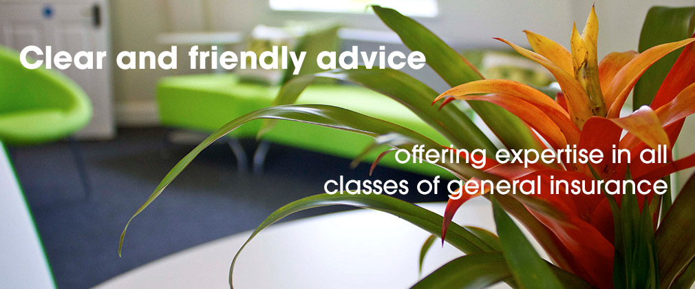 Clear and friendly advice - offering expertise in all classes of general insurance