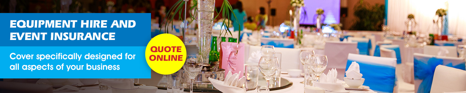 Equipment Hire and Event Insurance