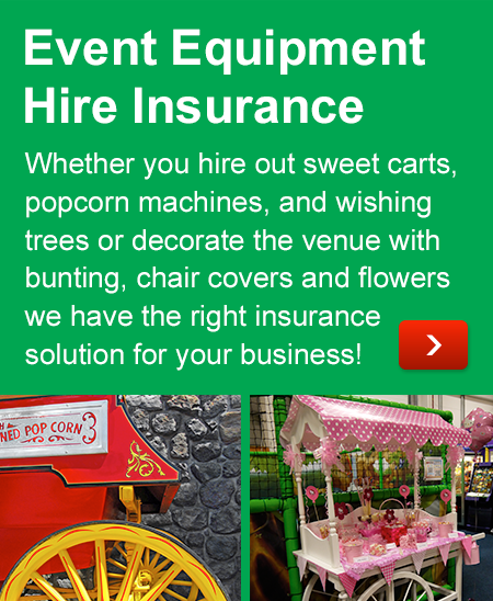 Event Equipment Hire Insurance